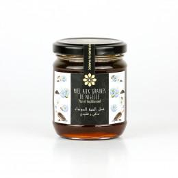 Miel aux graines de nigelle