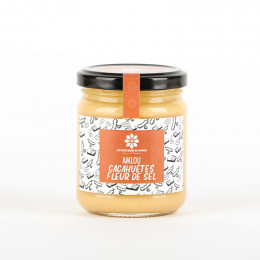 Amlou cacahuètes et fleur de sel